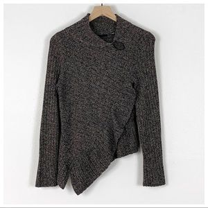Anthro Knitted & Knotted Wool Blend Sweater NWT